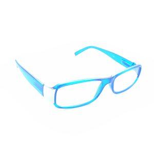Occhiali lettura R008 AZZURRO METALLO