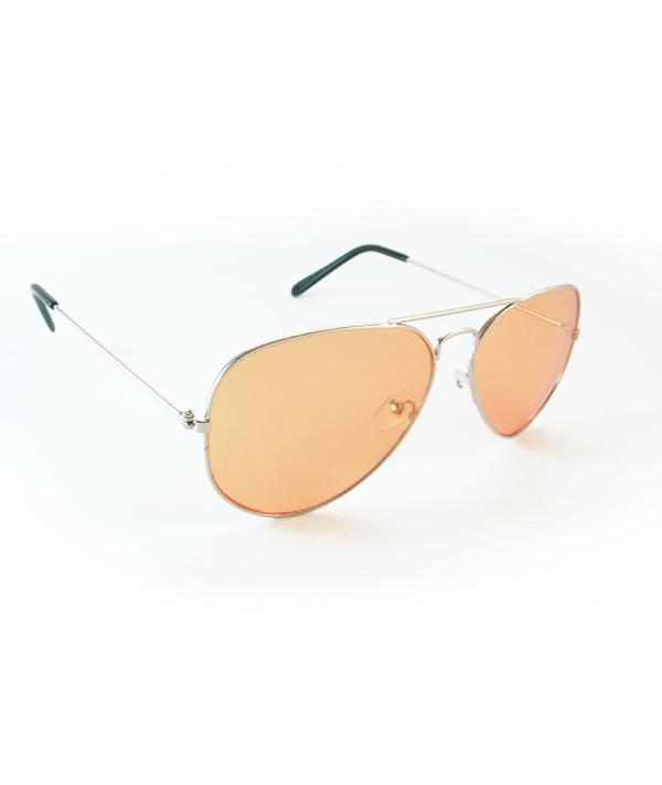 Occhiali sole unisex M12125 ORO-ARANCIO