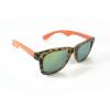 Occhiali sole unisex P12054 MARRONE-ARANCIO